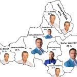Výsledky simulovaných študentských volieb do VÚC